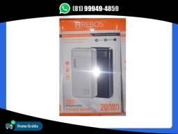 Carregador Portátil Power Bank 20000mah Hrebos