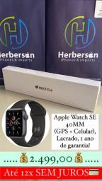 Título do anúncio: Apple Watch SE 40MM (gps + celular) - 12x SEM JUROS