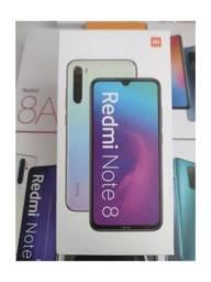 Baratinho de Pronta Entrega! Redmi note 8 da Xiaomi.. Novo Lacrado