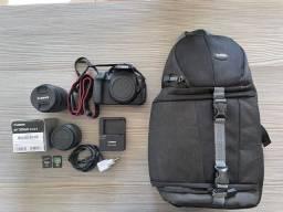 Título do anúncio: Canon Rebel T5i com lente EFS 18-55mm (6850 cliques)