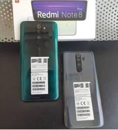 Xiaomi Redmi Note 8 Pro 10X S/Juros 128GB/6 Ram Loja Fisica/1 Ano de Garantia/Brinde