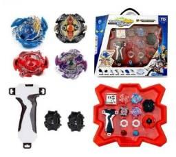 Beyblade com arena kit completo