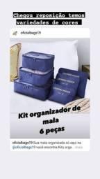 Organizadores de bagagem
