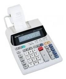 Título do anúncio: Calculadora De Mesa Com Bobina Sharp El-1801v 110v