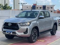 Toyota Hilux SRV! 2021! Emplacada 2021!