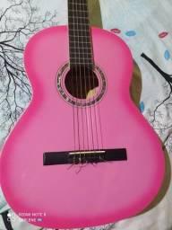 Violão Gianinni Nylon Pink