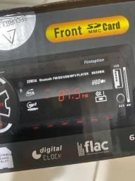 Título do anúncio: Rádio som carro automotivo USB aux Bluetooth