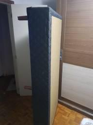 Base cama box solteiro.