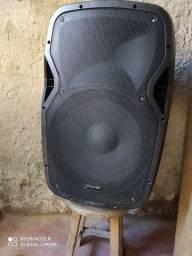 Caixa de som amplificada Framh bastante alta