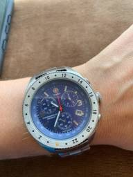 Relógio Timex Chronograph Indiglo WR 100M