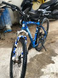 Título do anúncio: Bicicleta aro 29 Houston com peças shimano