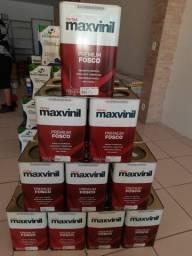 Liquida tinta 18L maxvinil primeira linha na Cuiabá tintas