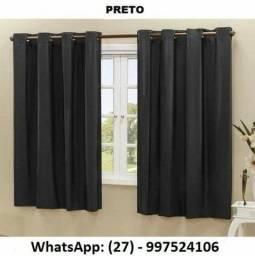 Título do anúncio: Cortinas Blackout em PVC duas folhas 2,20 x 1,30