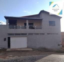 Título do anúncio: Casa com 4 dormitórios à venda, 225 m² por R$ 290.000,00 - Vila Atlântida - Montes Claros/