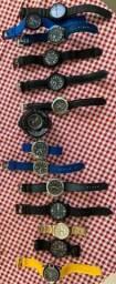 Relógios Náutica, Fossil, Ripcurl, G-shock, Champion, Tecnos, Bentley e X-games