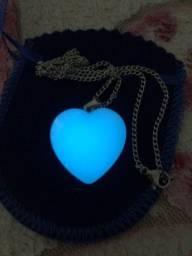 Colar coração Amor Infinto