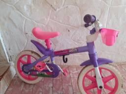 Bicicleta infantil violet