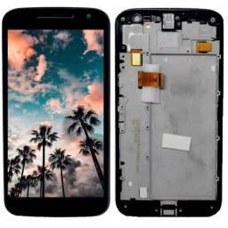 Tela Frontal Display Touch Motorola G1 G2 G3 G5 G5S  G5 Plus G6 Play