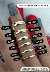 Compare e comprove par de alianças em ouro 18k direto com o fabricante