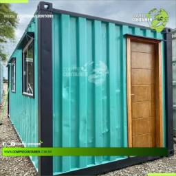 container dry com isolamento para comercio 15m²