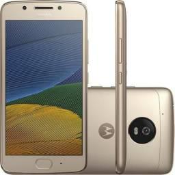 Moto G5 Ouro Motorola Tela 5,2 4g 16gb Câmera 16mp Xt1792