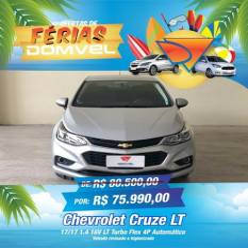 6206- Cruze 1.4 Turbo AT 17/17 - 2017