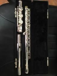 Flauta Professional Aberta Semi-Nova 3SHB Gemeihardt Made in USA