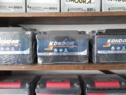 Bateria de 60 amperes Kondor selada. 1 ano de garantia.
