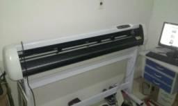 Ploter recorte nova 1,35 mts laser contorno completa