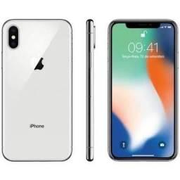 IPhone X Prata 256 GB (Muito Novo)