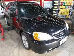 Honda Civic automático + GNV - 2002