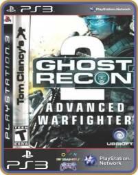 Título do anúncio: Ps3 Tom Clancys Ghost Recon Advanced Warfighter 2