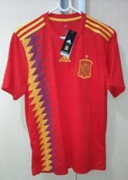 Camisa Seleção Espanha Adidas
