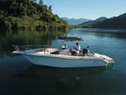 Lancha Fishing 265 - Mercruiser 5.0 V8 gasolina - Impecável - 2004