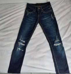 Calça jeans Damyller, tamanho 34