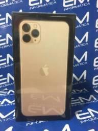 Iphone 11 Pro Max 256GB Dourado Apple - Lacrado - aceito seu iphone usado como entrada