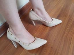 Sapato salto número 35