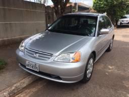 Honda Civic LX ano 2001 modelo 2002