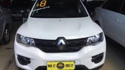 Renault kwid zen completo com gas novissimo unico dono