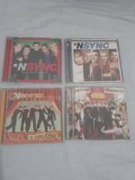 Nsync  coleção de cds