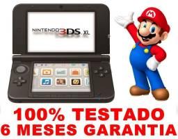 3DS XL, 6 meses de garantia, AvaliamosTroca, Loja física 16 anos de mercado
