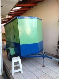Vendo trailer para comércio de caldo de cana