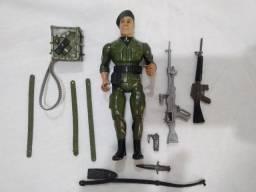 Boneco Cel.trautman Coleção Rambo