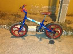 Bicicleta infantil Caloi Spider Man 16