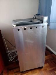 Fritadeira elétrica 20 lts água e oleo R$ 600,00