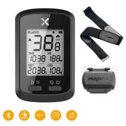 Gps Xoss G + Smart Plus + Monitor Cardiaco + Sensor de Cadência. R$ 560