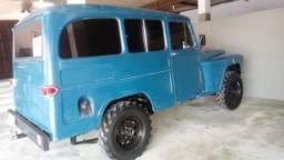 Vendo ou troco Rural Willys 1963