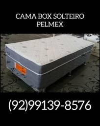 Cama Box de Solteiro Acoplada Pelmex
