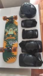 Skate burnquist com equipamento