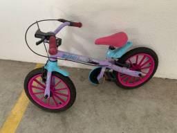 Linda Bicicleta bandeirantes Frozen
